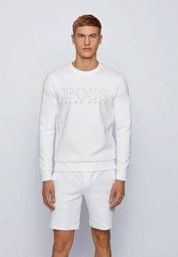 BOSS - SALBO ICONIC - Sweatshirt - white - 0