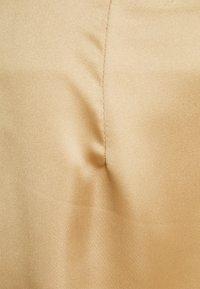 Missguided Petite - SKIRT - Mini skirt - stone - 2