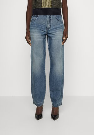 DIANA - Jeans relaxed fit - light-blue denim