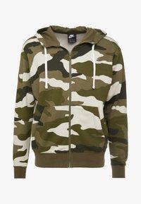 Nike Sportswear - CLUB HOODIE - Hettejakke - medium olive/summit white - 3