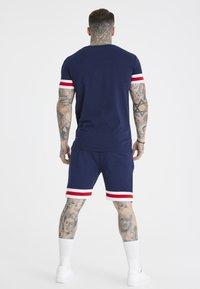 SIKSILK - TOURNAMENT TEE - Basic T-shirt - navy - 2