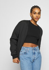 Monki - LINN - Topper langermet - black dark - 4