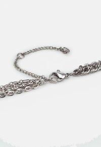 Topshop - MIX CHAIN SHORT - Náhrdelník - silver-coloured - 1