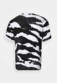 adidas Originals - ZEBRA - T-shirts med print - white - 1