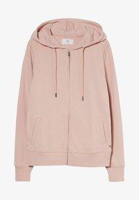 C&A - Zip-up sweatshirt - light pink - 3