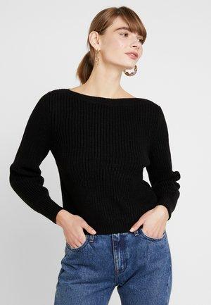 ONLATTILANA - Sweter - black