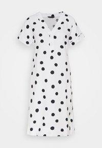 Marks & Spencer London - SPOT SHIFT - Kjole - off-white - 0