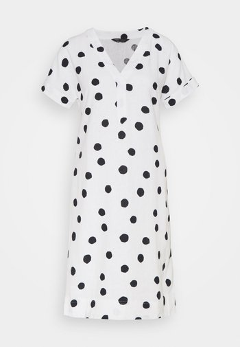 SPOT SHIFT - Day dress - off-white