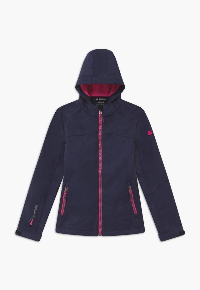 LYNGE GRLS - Soft shell jacket - dunkelnavy
