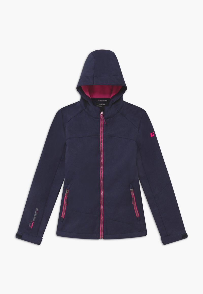 Killtec - LYNGE GRLS - Soft shell jacket - dunkelnavy