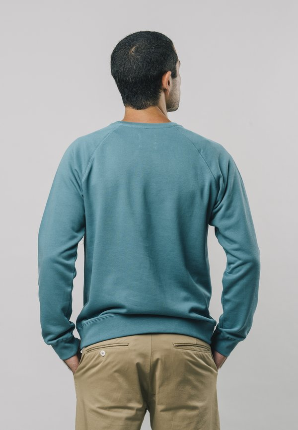 Brava Fabrics KOINOBORI - Bluza - blue/niebieski Odzież Męska FCBU
