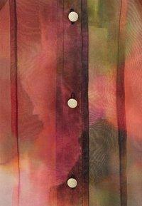 Karen by Simonsen - CELINA DRESS - Vestido camisero - dark red - 2