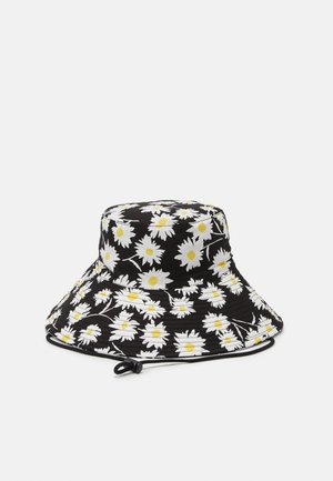DAISY PRINT WIDE BUCKET HAT - Hat - multi-coloured