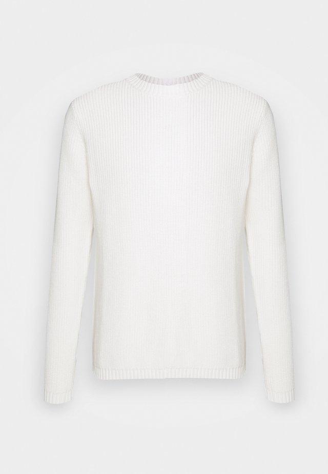 AKOLIVER  - Stickad tröja - tofu
