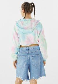 Bershka - MIT KAPUZE  - Summer jacket - turquoise - 2