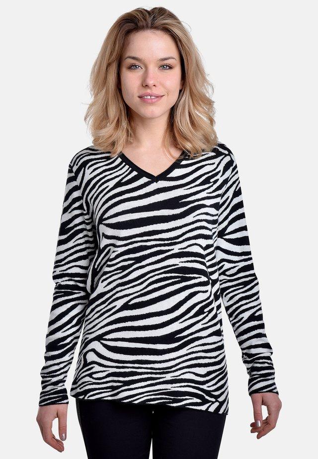 Longsleeve - black-white