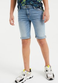 WE Fashion - Shorts di jeans - blue - 1