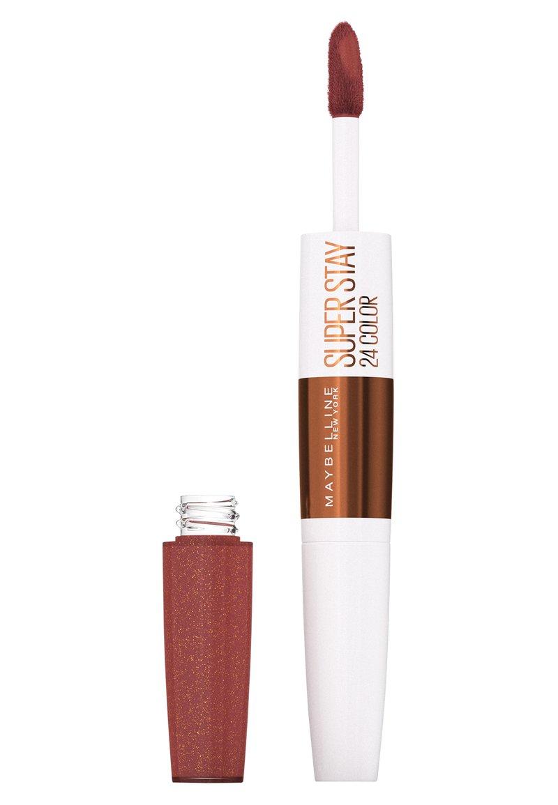 Maybelline New York - SUPER STAY 24H  - Liquid lipstick - 895 mocha chocolatte