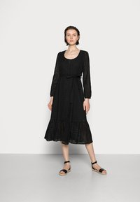 Cream - LOTTA DRESS - Day dress - pitch black - 0