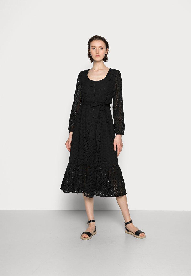 Cream - LOTTA DRESS - Day dress - pitch black