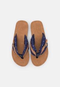 s.Oliver - T-bar sandals - navy - 5