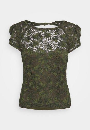 AURORA - Print T-shirt - vert/greenwich green