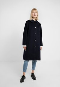 Mackintosh - WATERPROOF WIND RESISTANT FAIRLIE  - Płaszcz wełniany /Płaszcz klasyczny - navy - 0