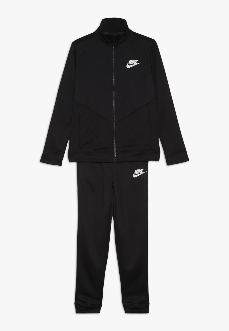 Nike Sportswear - B NSW CORE TRK STE PLY FUTURA - Trainingsjacke - black/white