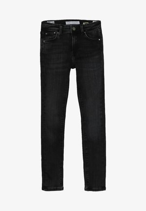PIXLETTE HIGH - Skinny džíny - black wiser wash denim