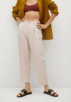 NATURE - Trousers - ecru