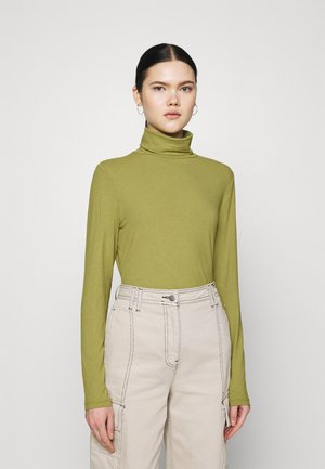 VISOLITTA ROLLNECK - Long sleeved top - green olive