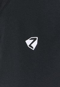 Ziener - NAMINTA LADY TRICOT - Wielershirt - black - 2