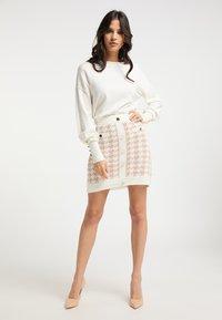 faina - A-line skirt - weiss beige - 1