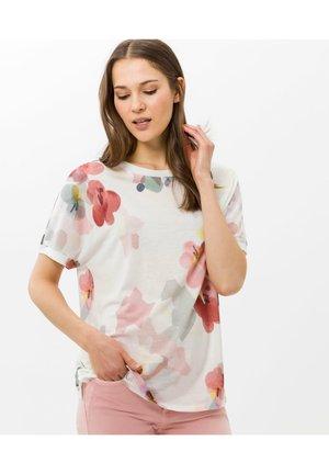 T-shirt print - offwhite