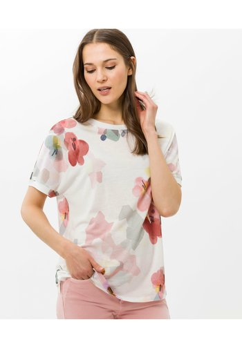 STYLE CATHY - Print T-shirt - offwhite