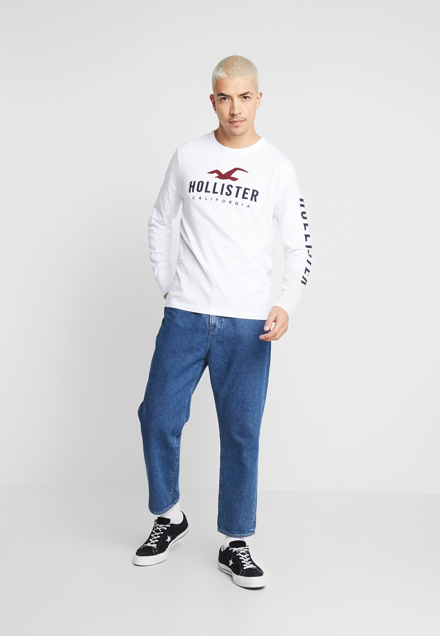 Hollister Co. GIFTSET 3 PACK - T-shirt à manches longues - multi