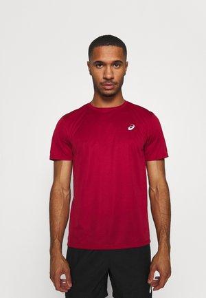 KATAKANA  - Print T-shirt - burgundy