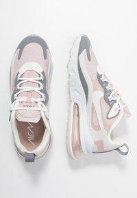 Nike Sportswear - AIR MAX 270 REACT - Trainers - plum chalk/summit white/stone mauve/smoke grey - 3
