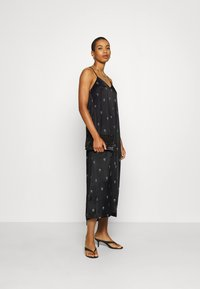 10DAYS - LONG DRESS MEDAL - Maxi dress - black - 1