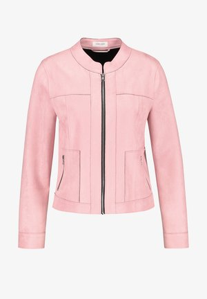 Veste en similicuir - rose