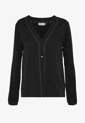 BUTTON UP BLOUSE - Blouse - black
