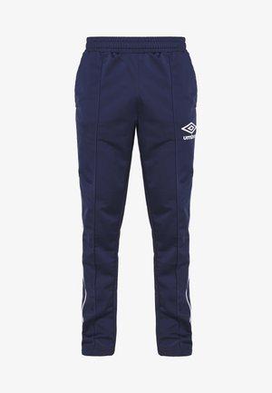 DIAMOND TRACK PANT - Pantaloni sportivi - medieval blue/brilliant white