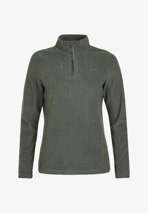 MUTEZ - Fleece trui - huntergreen