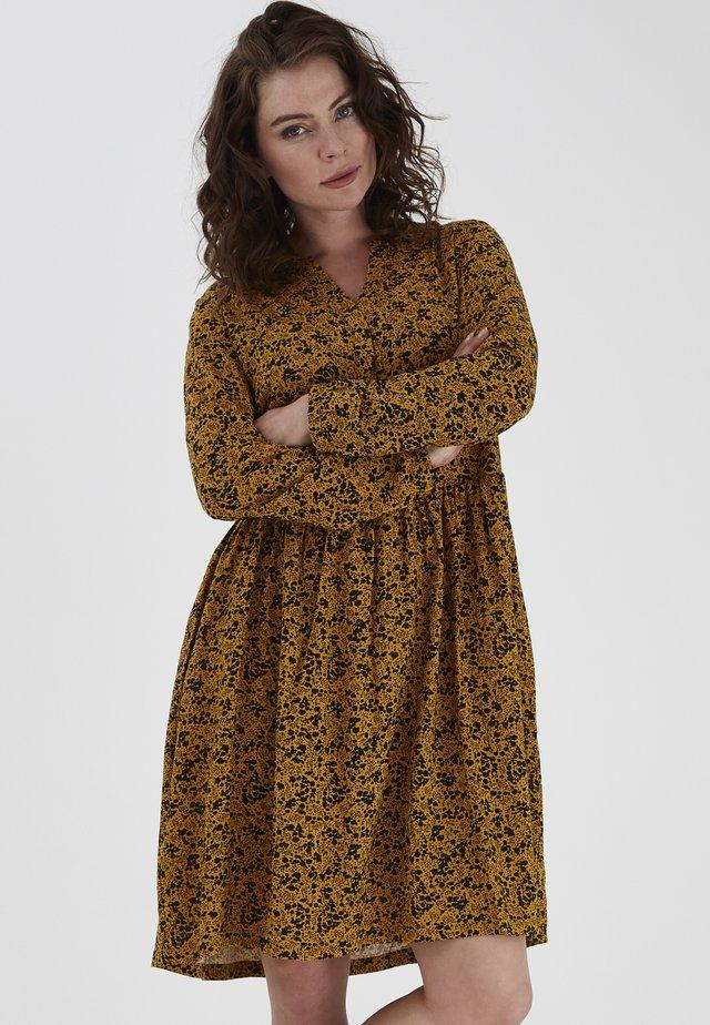 FRLAPREP - Day dress - harvest gold mix