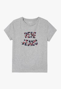 Pepe Jeans - COSMIC - Camiseta estampada - grey marl - 0