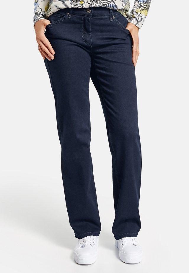 DANNY - Straight leg jeans - dark blue denim