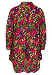 Zizzi - Button-down blouse - army - 7