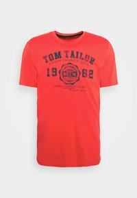LOGO TEE - Print T-shirt - powerful red