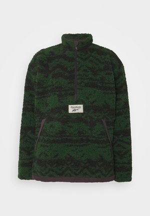 Fleece jumper - utility green