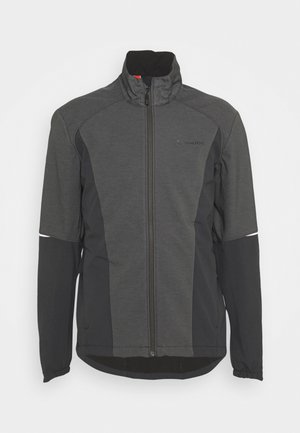 MENS WINTRY JACKET IV - Softshelljacke - black